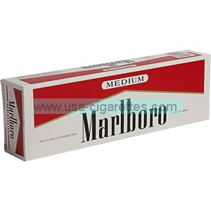 Marlboro Red Label box cigarettes